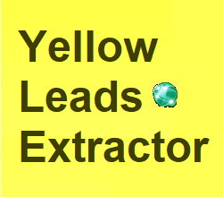 Yellow Leads Extractor Pro v7.6.5 Full Serial Key Free Download- Marketing